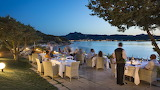 Outdoor dining in Sardinia - Italy