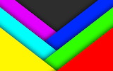 ^ Abstract green blue red yellow gray violet