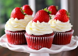 #Strawberry Cupcakes