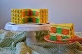 ^ Checkerboard Cake
