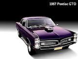 Classic muscle cars wallpaper 2