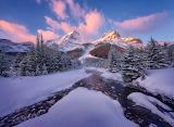 Winter's Light, Canadian Rockies