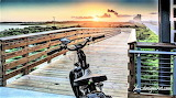 Sunrise park bridge Gulf Shores Alabama