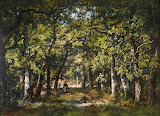 'In the Forest of Fontainebleau' by Diaz