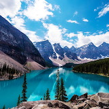 Emerald Moraine Lake, Canada...