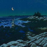 "Seascape tumblr dogstardreams ""Crescent Coast"" ""William H. Hays"""