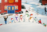 Chocolate factory-Snowman-painting-by-wilfrido-limvalencia