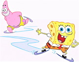 SpongeBob & Patrick Ice-Skating