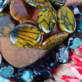 Colorful beaded jewelry