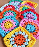 Colorful Array of Granny Squares