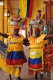 Happy Fruit-sellers