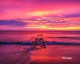 Sunrise Outer Banks beach