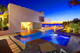 Amusing-ocean-view-home-design-with-awesome-swimming-pool-plus-w