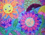 Hippie painting