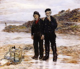 Scottish Fishermen - JF Raffaelli 1892