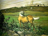 A Yellow Horse by Nils Kreuger 1898