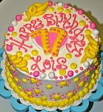 Lois's cake @ Leah's Sweet Treats