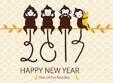 New Year Monkeys