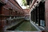 Dwarika Hotel Fountain in Katmandu