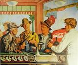 Prize Winning Corn~ Coca Cola Vintage 1946