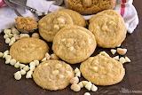 ^ White chocolate and macadamia nut cookies