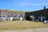 Chausey, maisons dans le fort