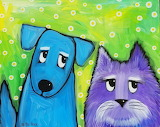 Best Friends Cat and Dog by Nettie Price