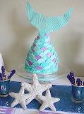 Mermaid cake @ Modern Met