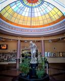 Beautiful hall of thermal baths Miskolctapolca Hungary