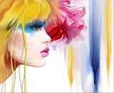Chica colores
