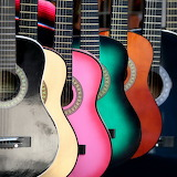 ☺ Colorful guitars...