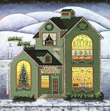 Christmas Holiday Trim House - Art Poulin