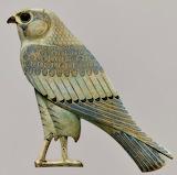 "Birds tumblr dogstardreams ""Horus"" ""Faience inlay from Khmoun:Sh"