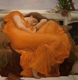 Flaming June by Sir Frederic Leighton, 1895
