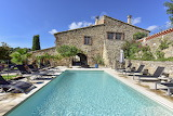 Luxury rustic stone villa, pool and terrace