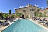 Luxury rustic stone villa, pool and terrace