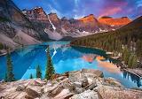 Sunrise-at-moraine-lake-kanada
