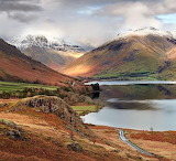 Wast Water Cumbria England UK Britain
