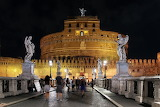 Castel Sant Angelo At Night, Rome