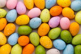 Coloured easter eggs @ facebook.com...