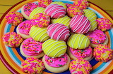 Plate-of-colorful-cookies-garry-gay