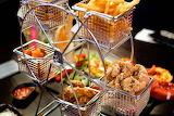 ^ Ferris Wheel food service