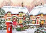 Christmas Art by Richard Macneil...