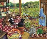 Serra con gatti