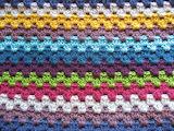 Rainbow jewel blanket