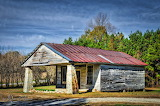 Old rural country store North Carolina