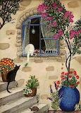 Il gatto e la lucertola