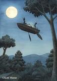 "Madamma Art ""Koh Murao"" ""Moon River"" Bunnies"