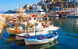 GREECE-SANTORINI-BOATS-WALLPAPER
