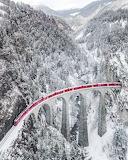 Trains - Regio Express in Winter - Switzerland
